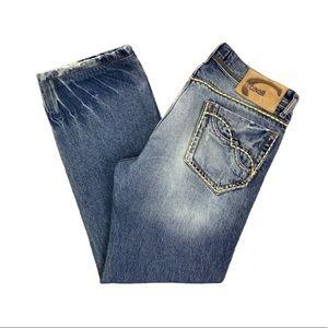JUST CAVALLI Roberto Cavalli Button Fly Jeans